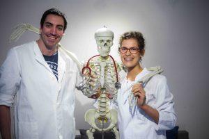 Felicitas Schneider Fabian Saal HappyHippocampus Seminar für Medizinstudenten